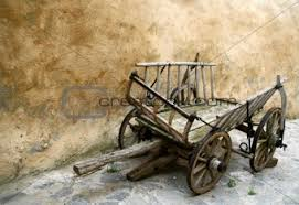 image 57825 wooden cart in ghosttown from crestock stock photos