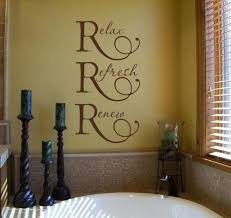ideas for bathroom wall decor words about bathroom wall decor csmau