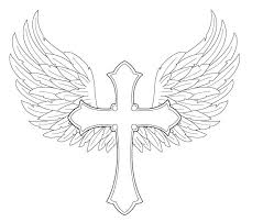 wings with cross by fighttheassimilation on deviantart