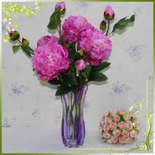 cheap silk flowers peony silk cheap artificial flowers real touch fresh cut