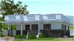 inspirations single floor house designs kerala 2017 with 3d