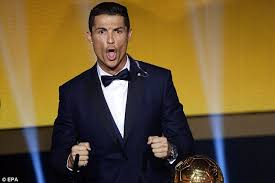 Scream And Shout Meme - cristiano ronaldo scream during ballon d or speech was a real madrid
