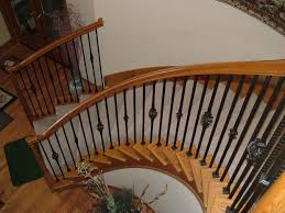 How To Refinish A Banister Stair Railings Stair Rails Stair Handrails