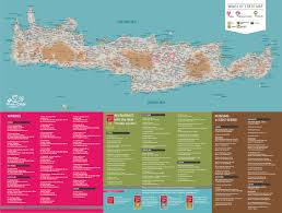 The 606 Map Wines Of Crete Map