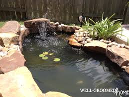 Water Ponding In Backyard Backyard Diy Ponding Part 1 I Know What I Did Last Summer