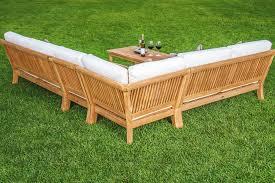 Teak Outdoor Sofa - Indoor outdoor sofas 2