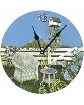 now christmas gift sales on outdoor garden clocks