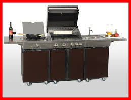 aussenküche edelstahl coobinox edelstahl gasgrill 4 brenner outdoor kitchen choco