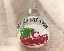 farm ornaments etsy