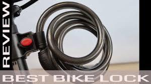 best bike lock best bike lock ushake bicycle locks review youtube