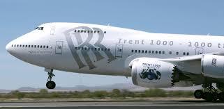 rolls royce jet engine rolls royce trent 1000 ten development on track air transport