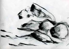 anne woods u0027 daily art works charcoal rocks