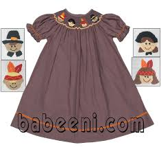 smocked dresses for thaksgivng available at http babeeni