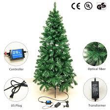 Walmart Fiber Optic Christmas Tree Signstek 6 Ft Pre Lit Fiber Optic Tipped Artificial Christmas