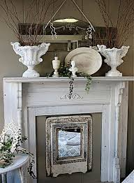 Shabby Chic Fireplace by 64 Best Fireplaces U0026 Firewood Images On Pinterest Fireplace