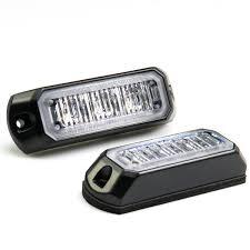 vehicle led mini strobe light w built in controller 3 watt