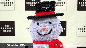 Outdoor Lighted Snowman 202779 Pop Up Outdoor Snowman Youtube