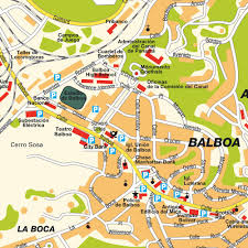 map of panama city map balboa panama city panama maps and directions at map
