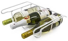 sorbus wine rack stand sorbus fridge wine rack refrigerator bottle rack holds 3 bottles