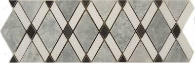 Grey Border Tiles Diamond Grey Stone Diamond Tile Polished Ds 570l