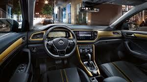 volkswagen dashboard de nieuwe volkswagen suv t roc volkswagen