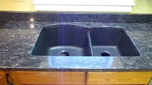 steel grey custom granite countertop installation w composite