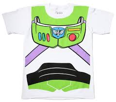 toy story buzz lightyear astronaut costume white t shirt