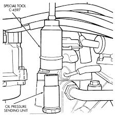 2001 jeep grand pressure sending unit repair guides sending units and sensors pressure sending