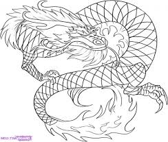 easy chinese dragon drawing drawing of dragon pencil sketch