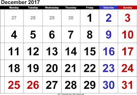 december 2017 calendar uk with holidays free design and templates