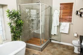 Bamboo Shower Floor How To Home U0026 Family Diy Wooden Slat Shower Floor Hallmark