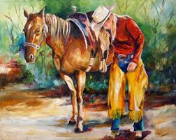 best painting sugarjacks a girl s best friend equine cowgirl art by daily