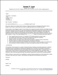 Business Letter Format For Email Cover Letter For Applications