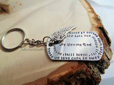 Remembrance Keychain Gone Fishing In Heaven Fisherman Memorial Gift Bereavement