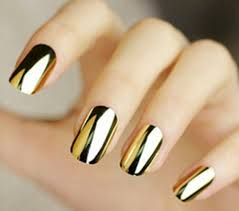 metallic nail foil wraps mirror gold metallic nail awesome mirror shine gold mirror