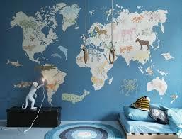 World Map Mural Mural World Map Large