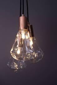 Light Bulb Pendant Christalle Bulb Pendant Light Glamorous Ceiling Light
