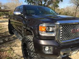 lifted gmc 2015 2015 sierra denali duramax lifted with 35 u0027s bmf novakane 20x10
