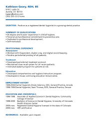 sample resume for dental hygienist dental hygienist resume sample