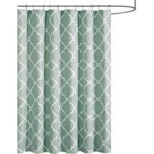 Blue And Green Shower Curtains Modern Green Shower Curtains Allmodern