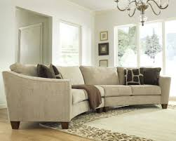 Curved Back Sofa by Sectional With Bed Circle Ottoman Storage Round Leather Worn U2013 Vupt Me