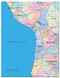 map of cities in south america editable south america andes region provinces capitals and cities