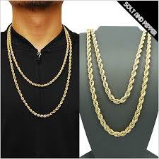cheap gold necklace images Gold rope chain necklace clipart jpg