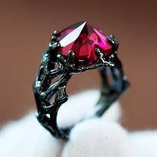 gothic ruby rings images Gothic wedding rings gothic wedding rings jpg
