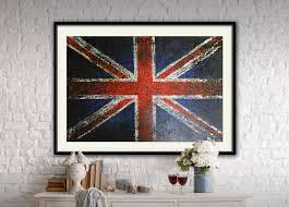 great britain flag wall art u2013 art for loft
