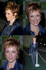 side view of lauren holly with very short hair my style