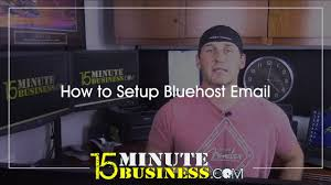 Email Business Com by How To Set Up Bluehost Email Youtube