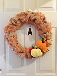 diy burlap wreath artsyjess