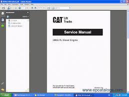 caterpillar 4g15 4g63 4g64 6g72 engine forklifts service manual