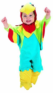 amazon com rubie u0027s costume baby parrot blue red green 0 6